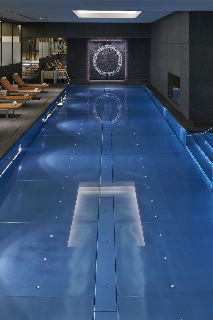 The pool at the Mandarin Oriental, Hyde Park, London #coolpools