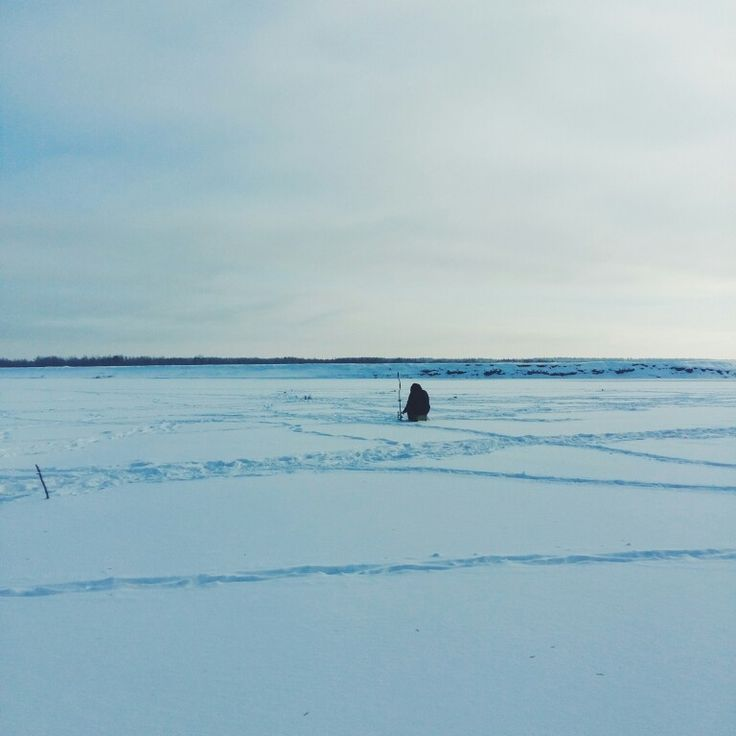 Тишина и спокойствие зимнего дня