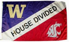 WSU vs. UW - House Divided Flag