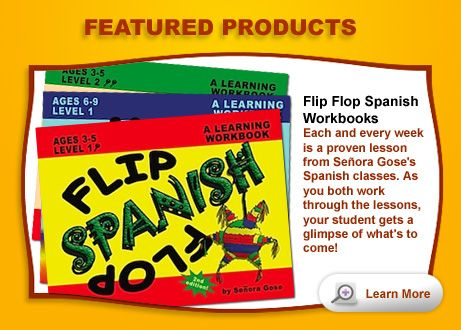 With Flip Flop Spanish even I may finally learn to speak Spanish.