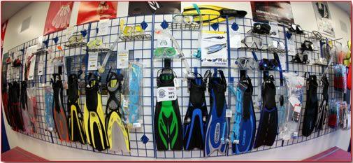 Assemble your scuba diving equipment