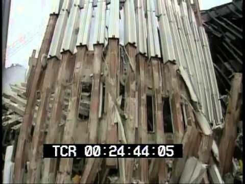 September 11, 2001 World Trade Center aftermath raw stock footage Part 2...