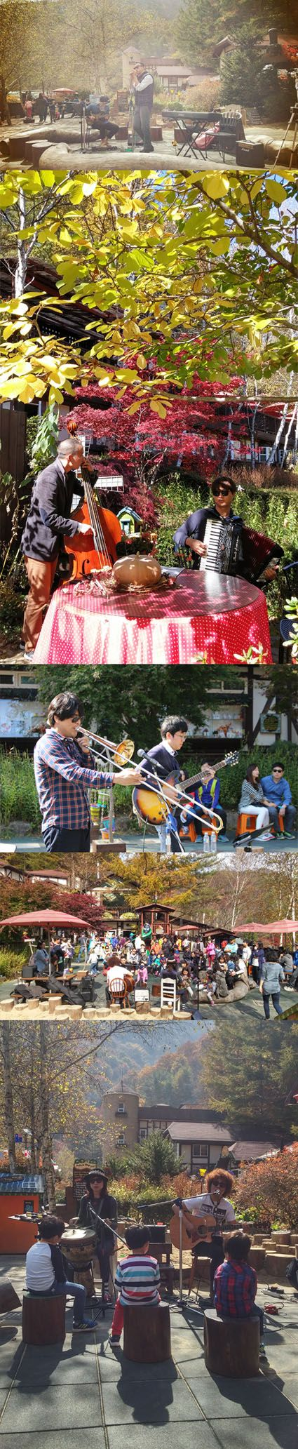 Garden Concert, Fall in Herb Festival 2014, Farm Herbnara, Korea