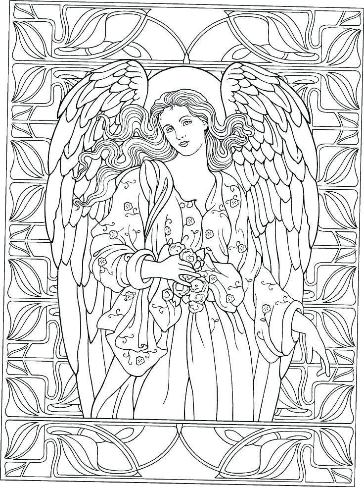 Coloring Pages Angel Angel Coloring Pages For Adults Unique Image Result Ornament Sheet Stained Of Col Angel Coloring Pages Fairy Coloring Pages Coloring Books