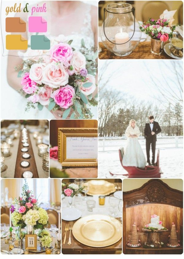 Winter wedding color palette 2013 trends mustard colors for Winter wedding color palettes