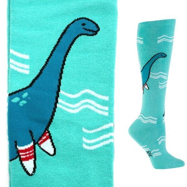 sock ness monster socks