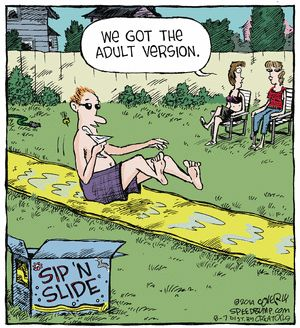 Speed Bump Comic Strip, August 07, 2014 on GoComics.com