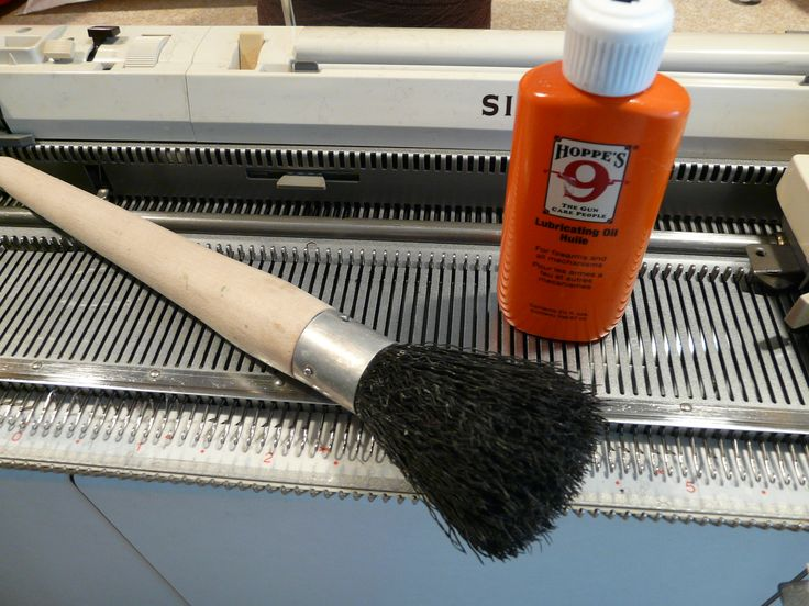 Some Housekeeping for Knitting Machines                                                                                                                                                                                 More