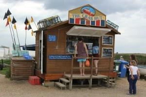 The Crab Hut, Brancaster Staithe