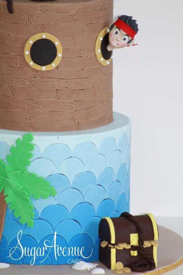 Jake the Pirate cake.