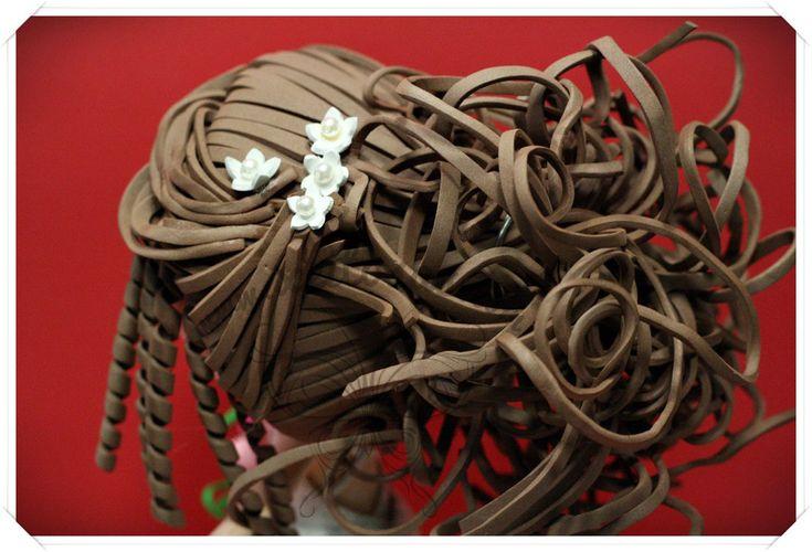 Peinado para fofucha novia  www.xeitosas.com