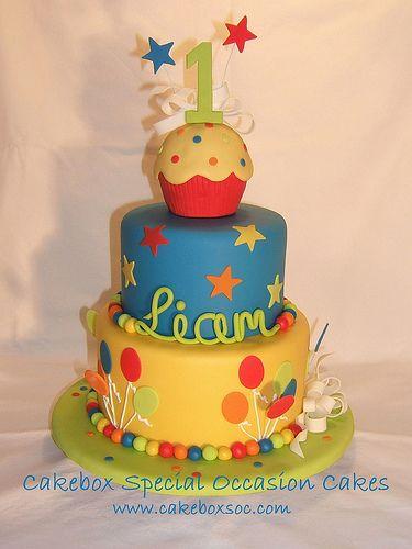 Joli gâteau d'anniversaire !