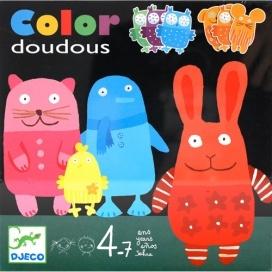 """Игра """"Разноцветные животные"""""""