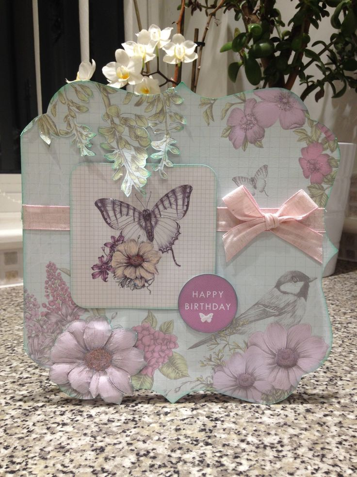 Created by Maxcine Etherington for Craftwork Cards using the Birds and Blooms collection.