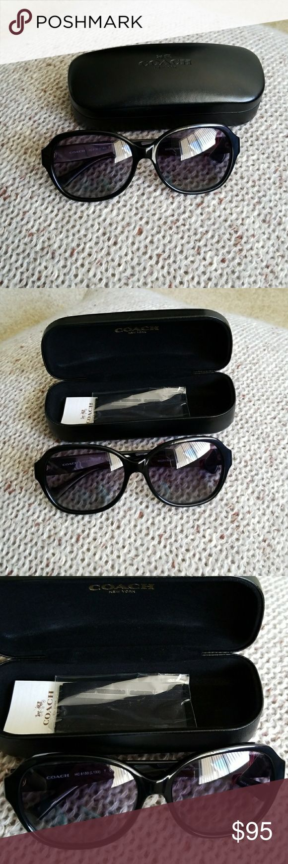 Coach Sunglasses!!! Coach Oversized Sunglasses Purple Grey Gladient. Coach Other