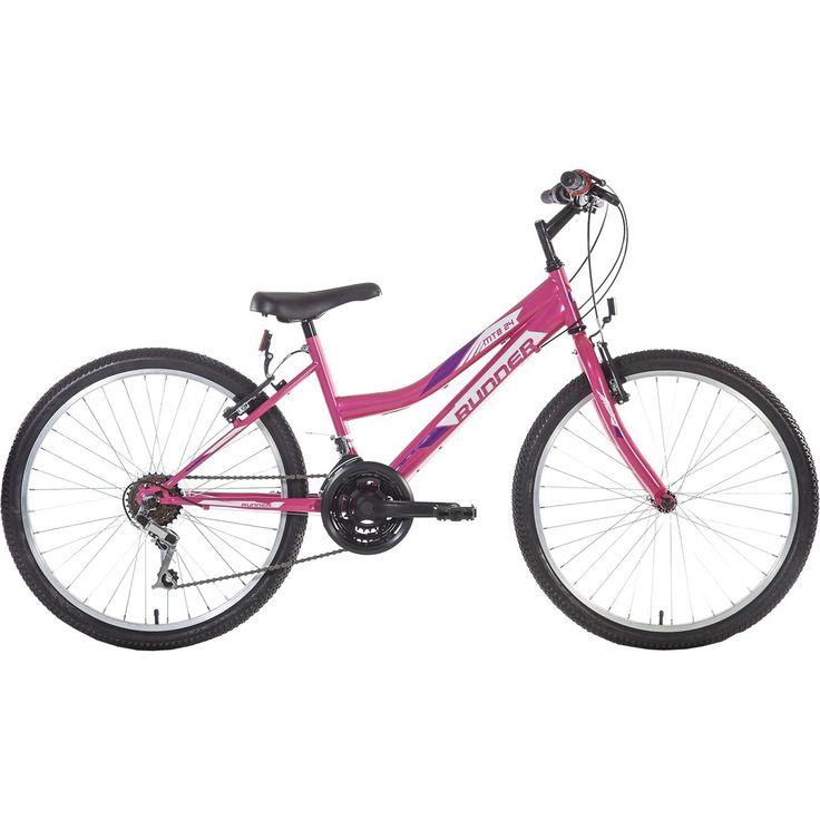 """Ποδήλατο γυναικείο 24"""" Mtb Runner Lady. ΣΚΕΛΕΤΟΣ :  HI-TEN ΤΑΧΥΤΗΤΕΣ: GRIP SHIFT ΖΑΝΤΕΣ: ALLOY ΦΡΕΝΑ: V-BRAKES PLASTIC ΤΑΧΥΤΗΤΕΣ: 18 Μεγεθολόγιο"""