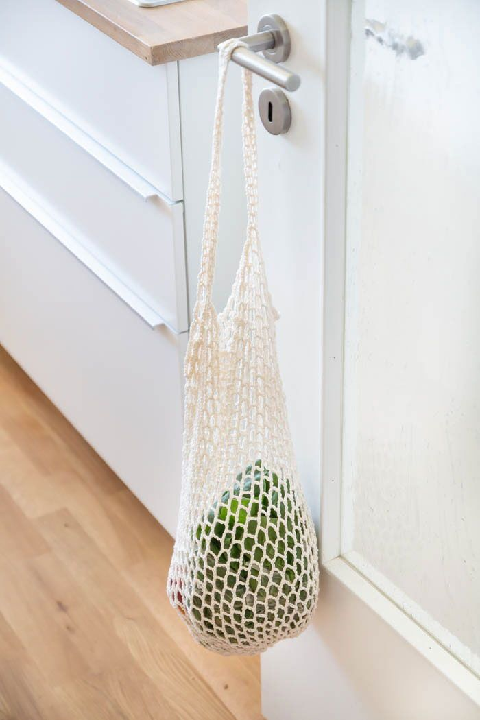 Netzbeutel Häkeln Wolle Statt Plastik Crochet Crochet Knit