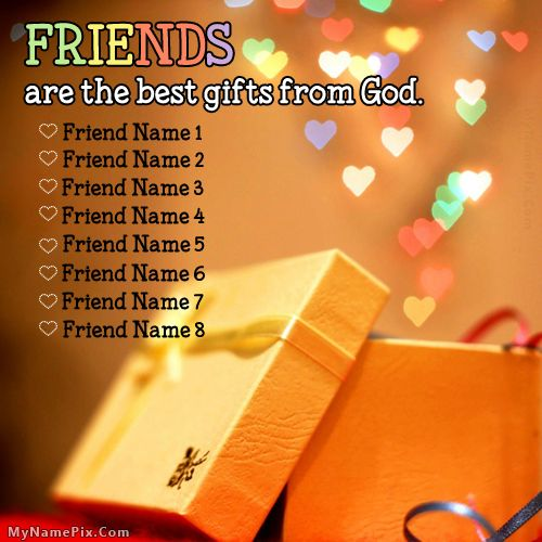 Get your name in beautiful style on Friends Are Gift ...
