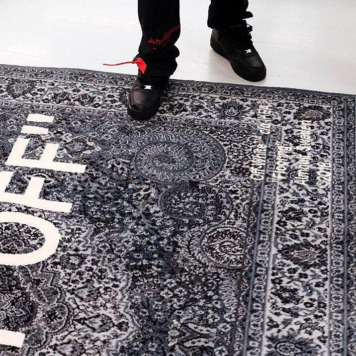 virgil abloh carpet ikea