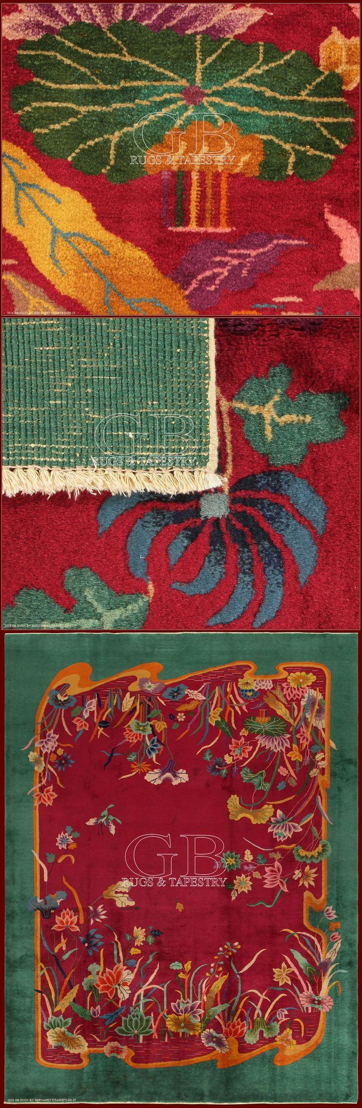Peching Vintage Carpetcm 353 x 270ft 11'6 x 8'9 Cod:: 141403143915Origin: ChinaAge: Old