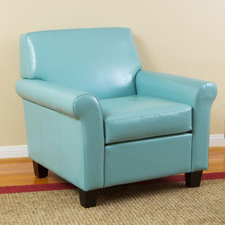 Biloxi Faux Leather Club Chair