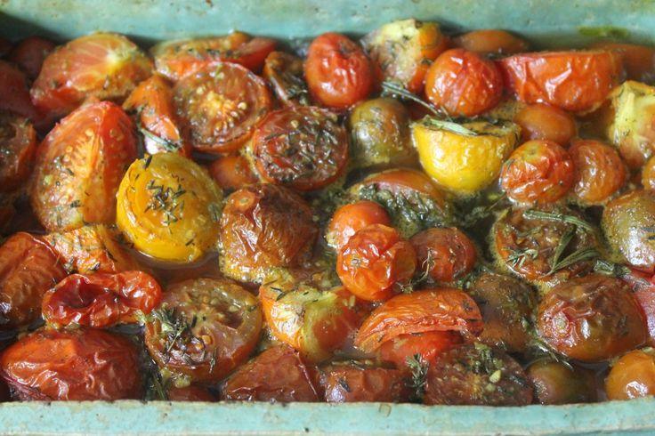 Gebakken tomatensoep!