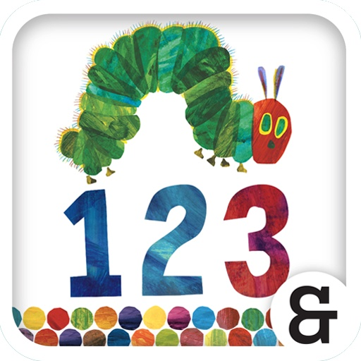 "Buon ""The Very Hungry Caterpillar day""  with  Counting With The Very Hungry Caterpillar  #app4kids"