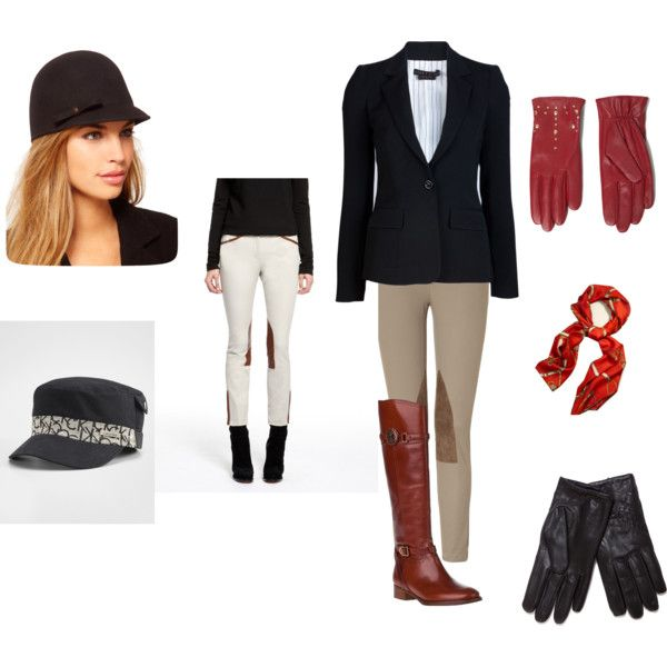 Halloween Equestrian Outfit - Question!