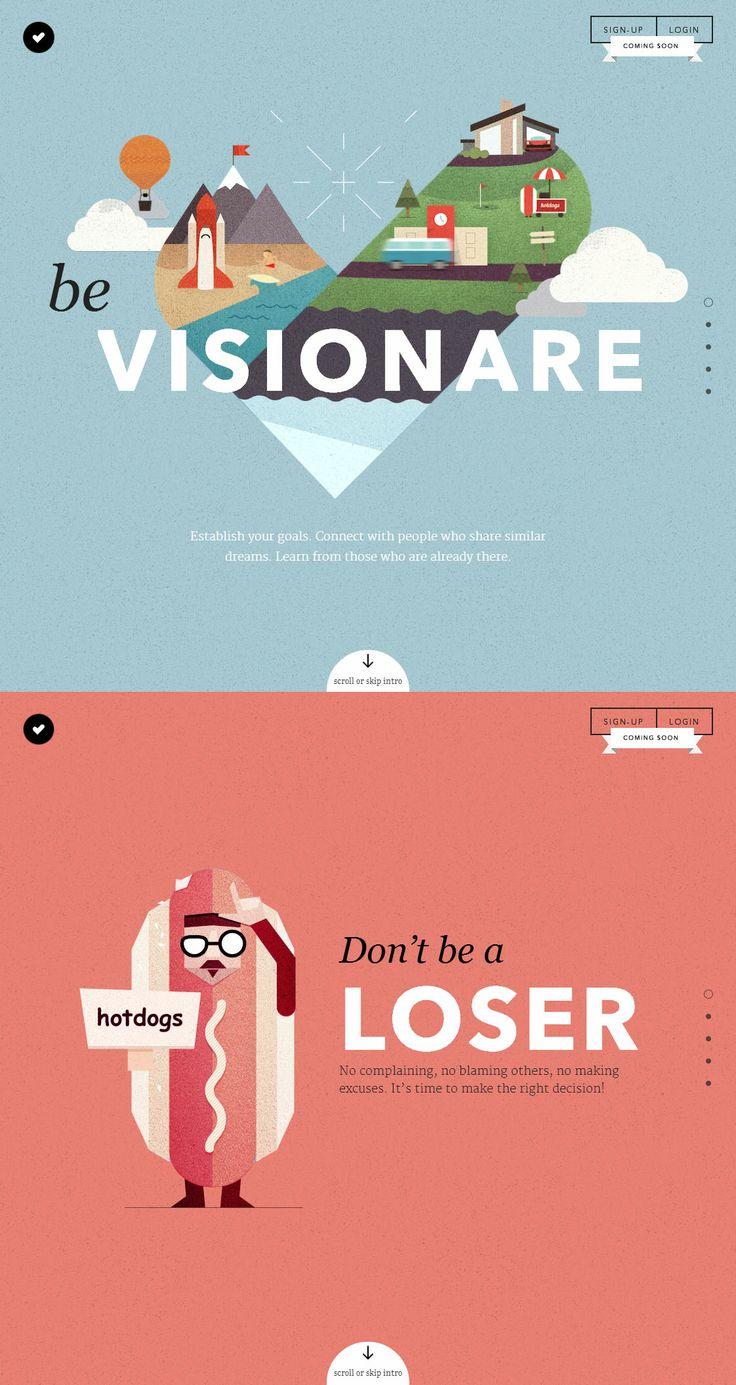 Visionare, June 2, 2014. http://www.awwwards.com/web-design-awards/visionare #UI #Inspiration #WebDesign #Scroll #Illustration #Colorful #SOTD #Awwwards
