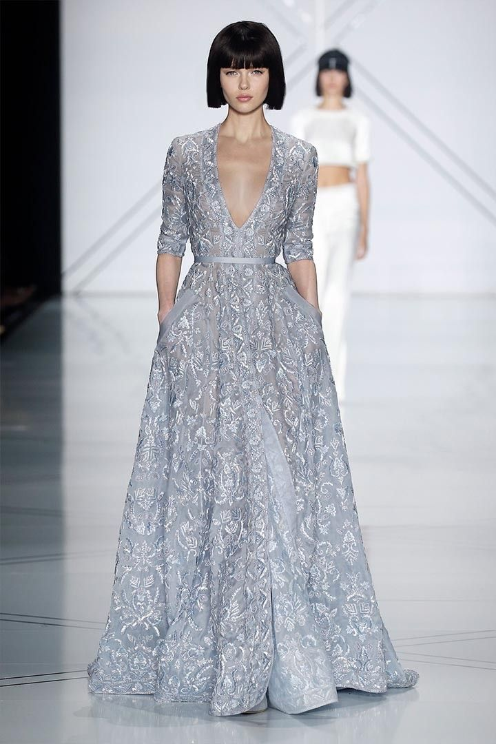 Ralph and Russo runway