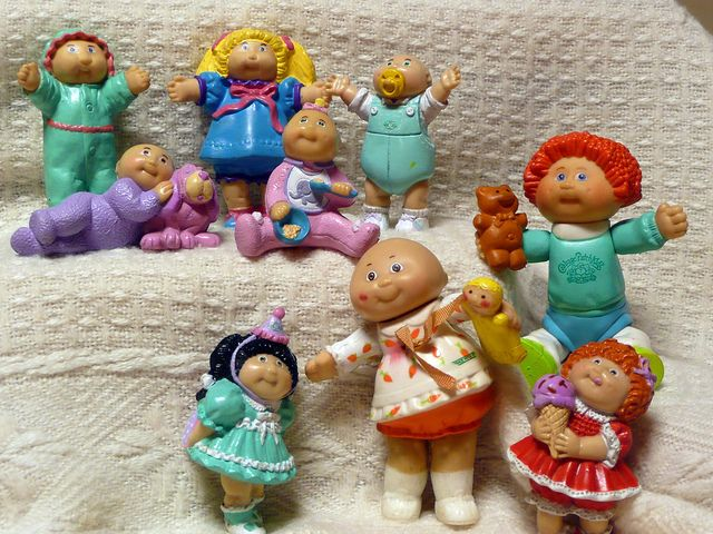 Cabbage Patch Kids--I had several of these