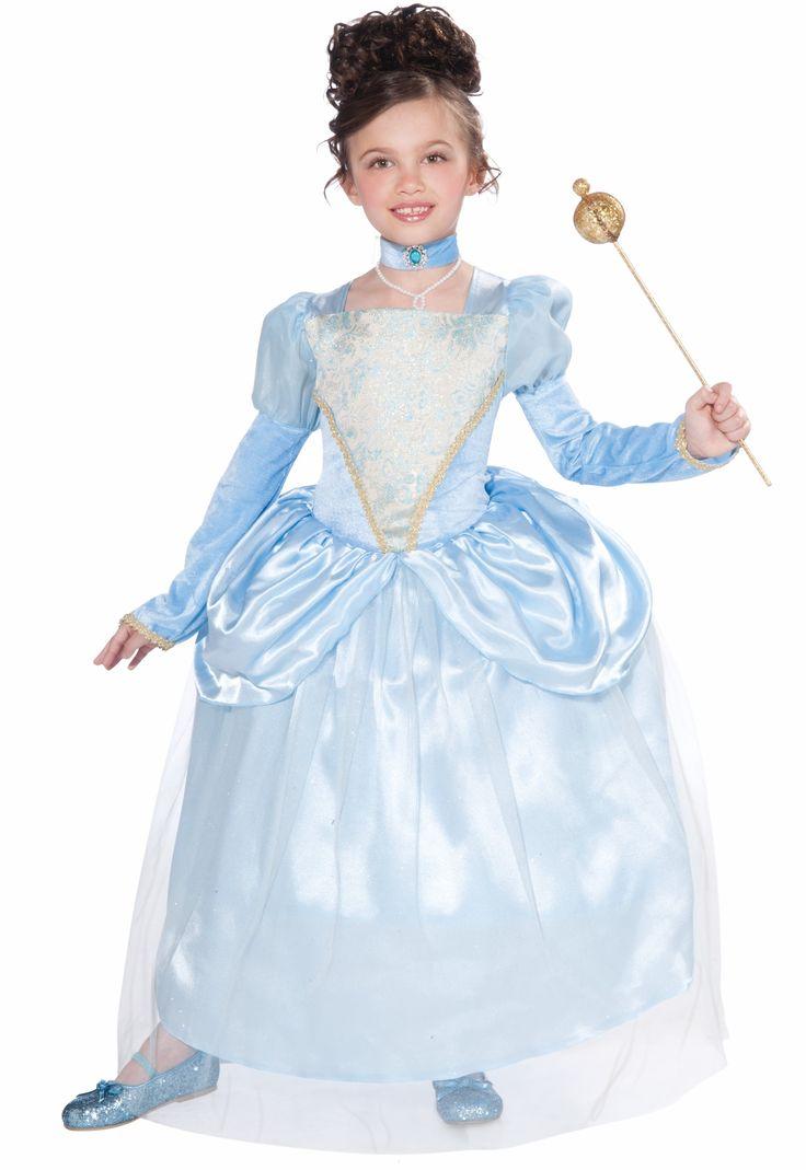 Голубой костюм для Золушки включает платье и украшение на шею — http://fas.st/Bq60T_