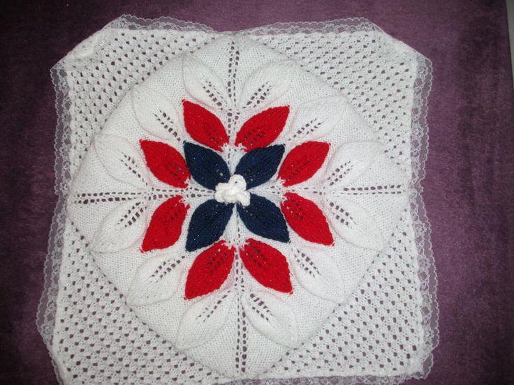leaf blanket - Knitting creation by mobilecrafts   Knit.Community