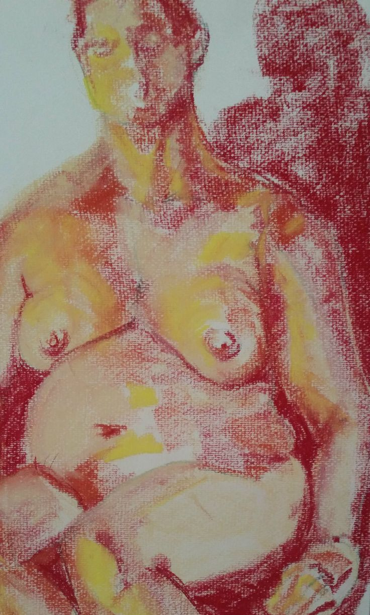 Jeanne Armstrong, life drawing Art Est, Pina Bartolo instructor