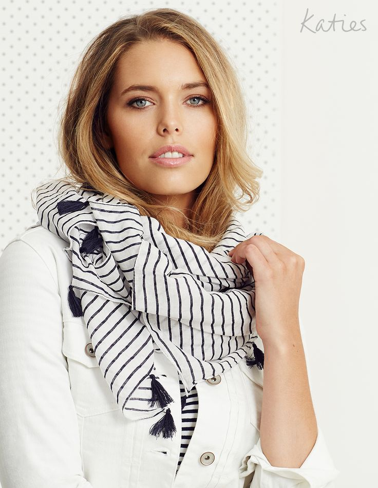 COTTON SCARVES / Short cut to chic and add a splash of colour and pattern to your look with our range of cotton rich scarves.