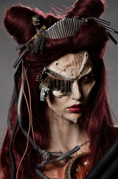 AMOOOOOO FACE OFF CYBORG INCRIIIIIIIIIVEL       Face Off Syfy Tim Burton | What is your favorite Face Off makeup of all time?