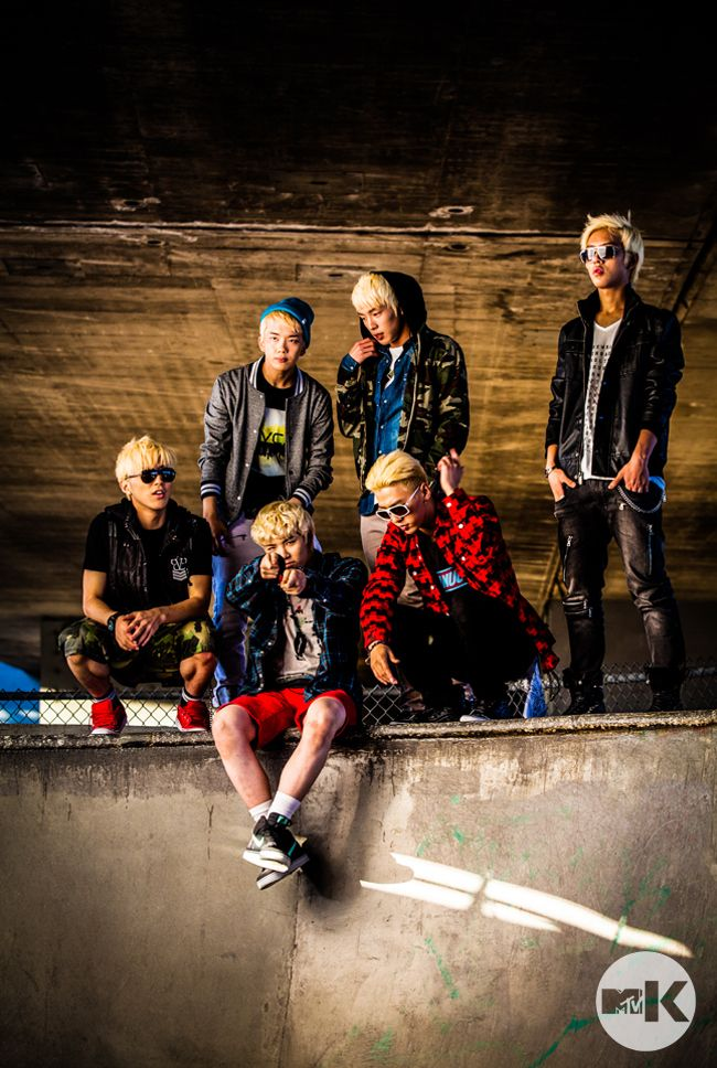 Everything they wear in this photoshoot was my favorite!!!  BAP Zelo Daehyun Himchan Yongguk Youngjae Jongup