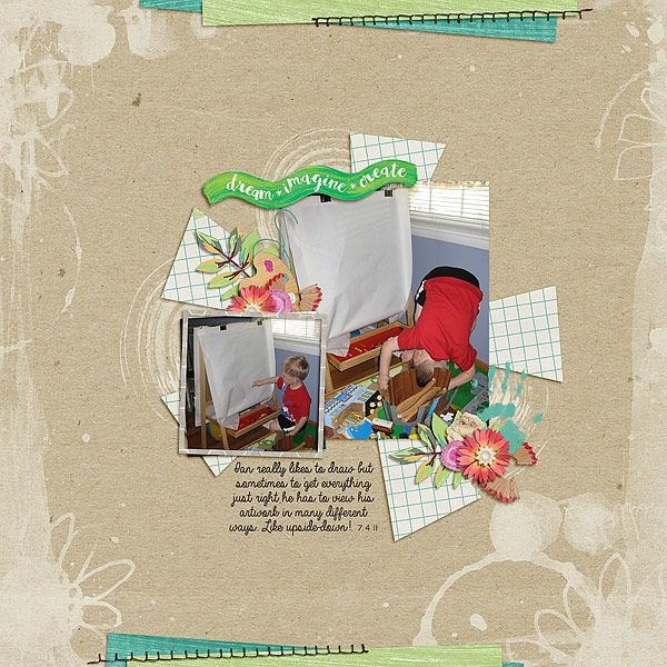 Different Viewpoint - Template by Manda Lane Scraps & kit is Art In My Heart by Magical Scraps Galore.