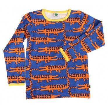 Smafolk Blue Crocodiles T-shirt
