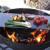 Bålfad med grillfunktion