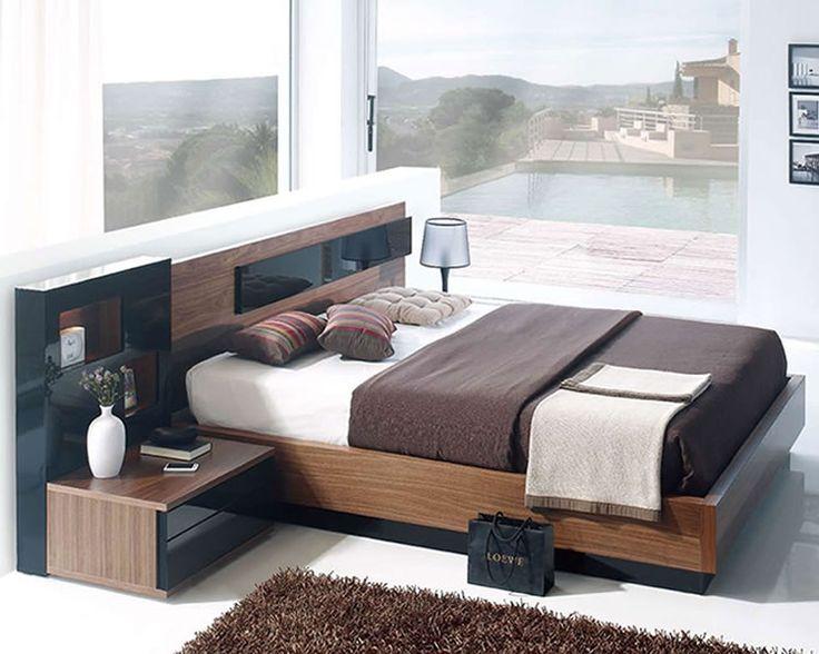 European Platform Bed With Lift Up Storage. Modern Bedroom SetsModern ...