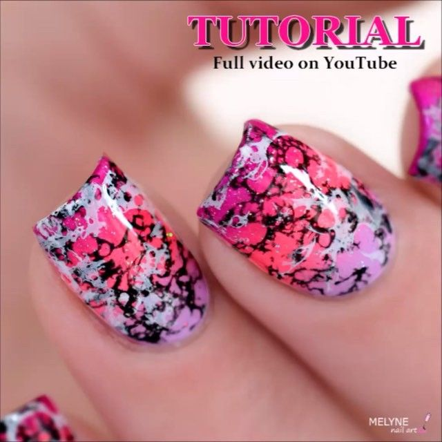#NailArt - #vernis - #manucure - by Mylene Nail Art -  TUTORIAL