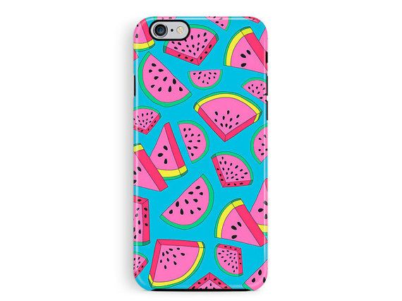 Protective iPhone Case, Bumper iphone 6 Case, iPhone 5 Case, iPhone 6 Case, Watermelon iPhone 6 Case, Bumper phone case, Hipster iphone case