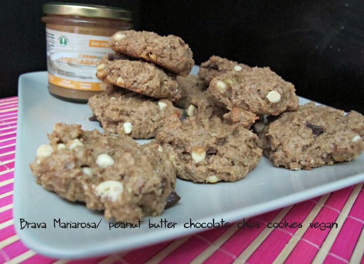 biscotti al burro di arachidi vegan
