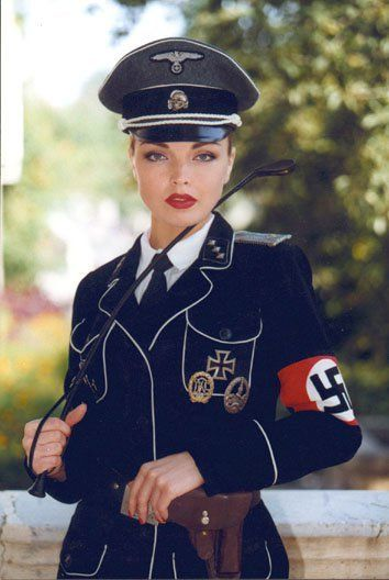 naked nazi uniform ladies