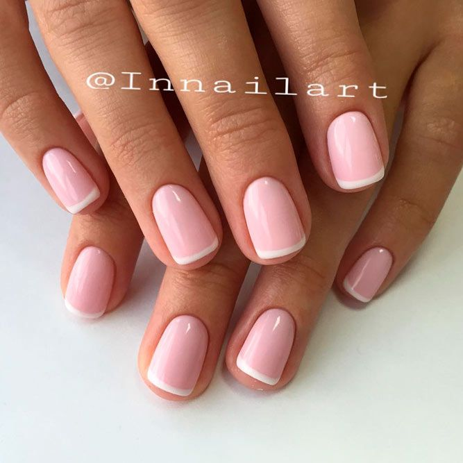 Beautiful White Tip Nails Designs Specially For You See More Https Naildesignsjournal Com White Tip Nails Designs White Tip Nails Pink Nails Trendy Nails