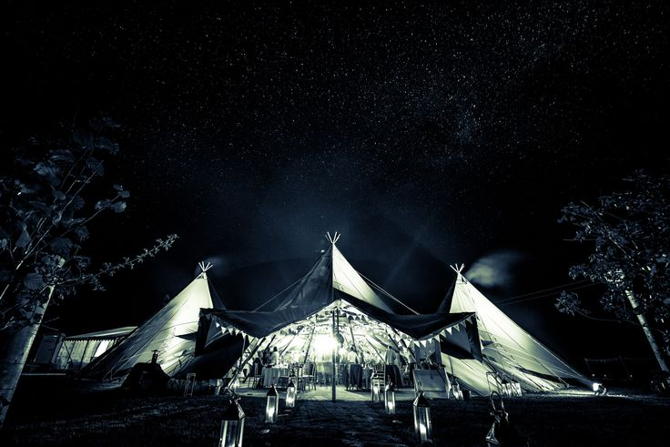 World Inspired Tents' (www.worldinspiredtents.co.uk) tipi exterior by nickreader.com