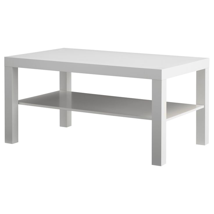 LACK Coffee table - white - IKEA - This is the right size for the guinea pig cage, and definitely the right price