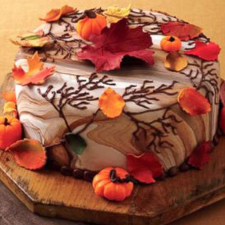 You don't have to be the Cake Boss to make a gorgeous fall-themed cake for your upcoming event. Try out his recipe to see for yourself! Want a trick to make decorating your cake even easier? You can use your Jiffy steamer to get a perfectly smooth finish on your fondant that will put the pros to shame.  http://abcnews.go.com/GMA/recipe/fall-cake-recipe-buddy-valastro-25990216?cid=share_twitter_widget