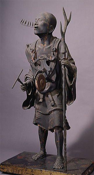 空也上人立像 Statue of Kuya, at Rokuharamitsuji, Kyoto National Treasure
